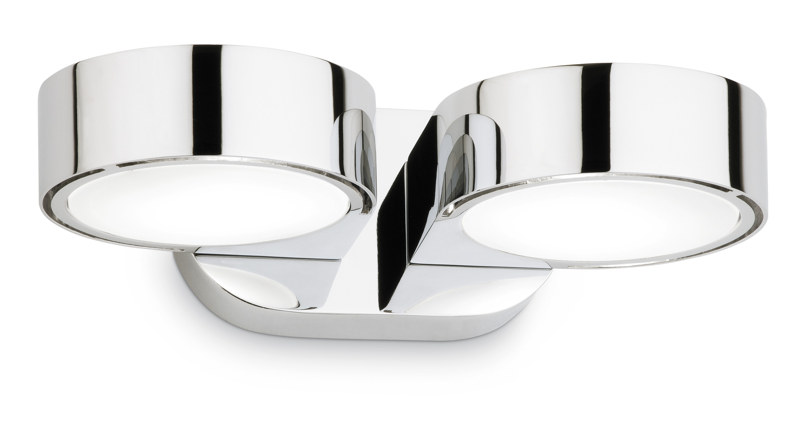 Corner Wall Lamp Doble Chrome