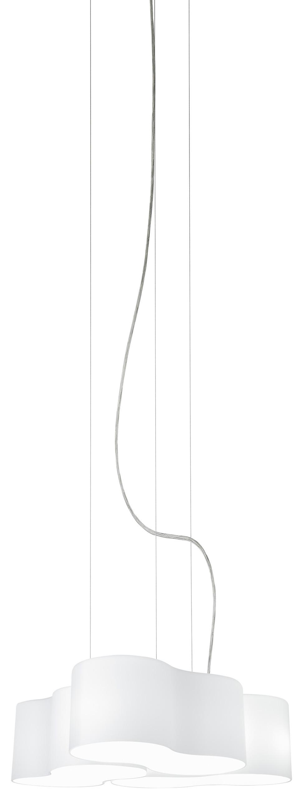 Eight Lámpara Colgante triple negro