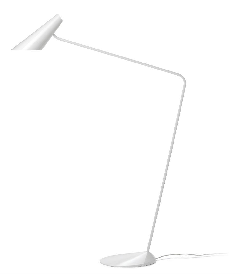 I.Cono lámpara de Pie Lectura 135cm E14 15w Verde