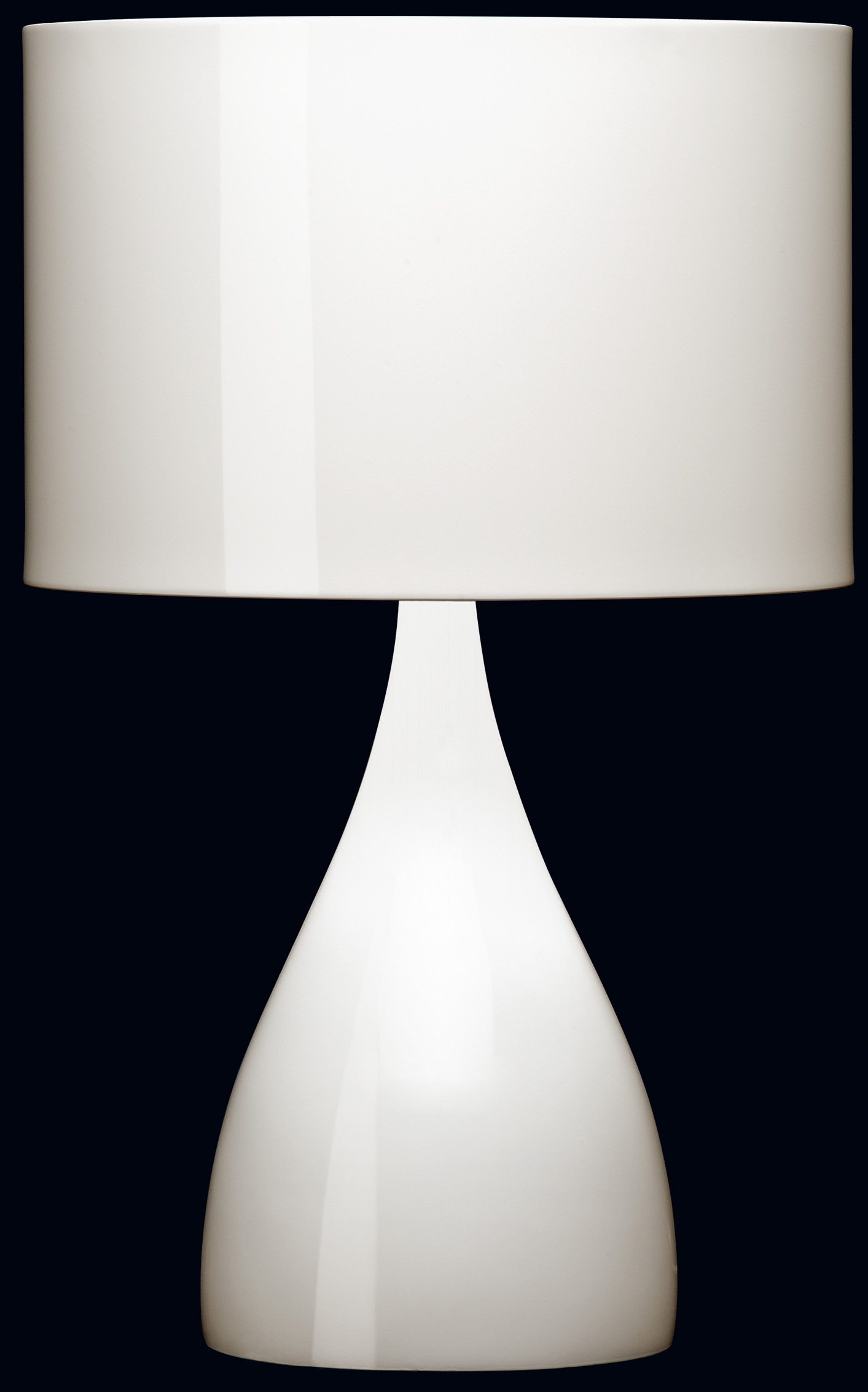 Jazz mini short Table lamp Lacquered red