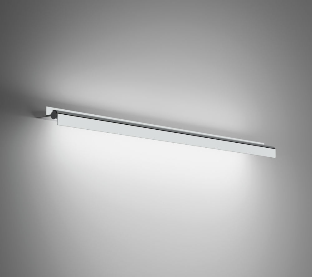 Millenium Wall Lamp 98,5cm G5 39w with Reflector adjustable - Chrome