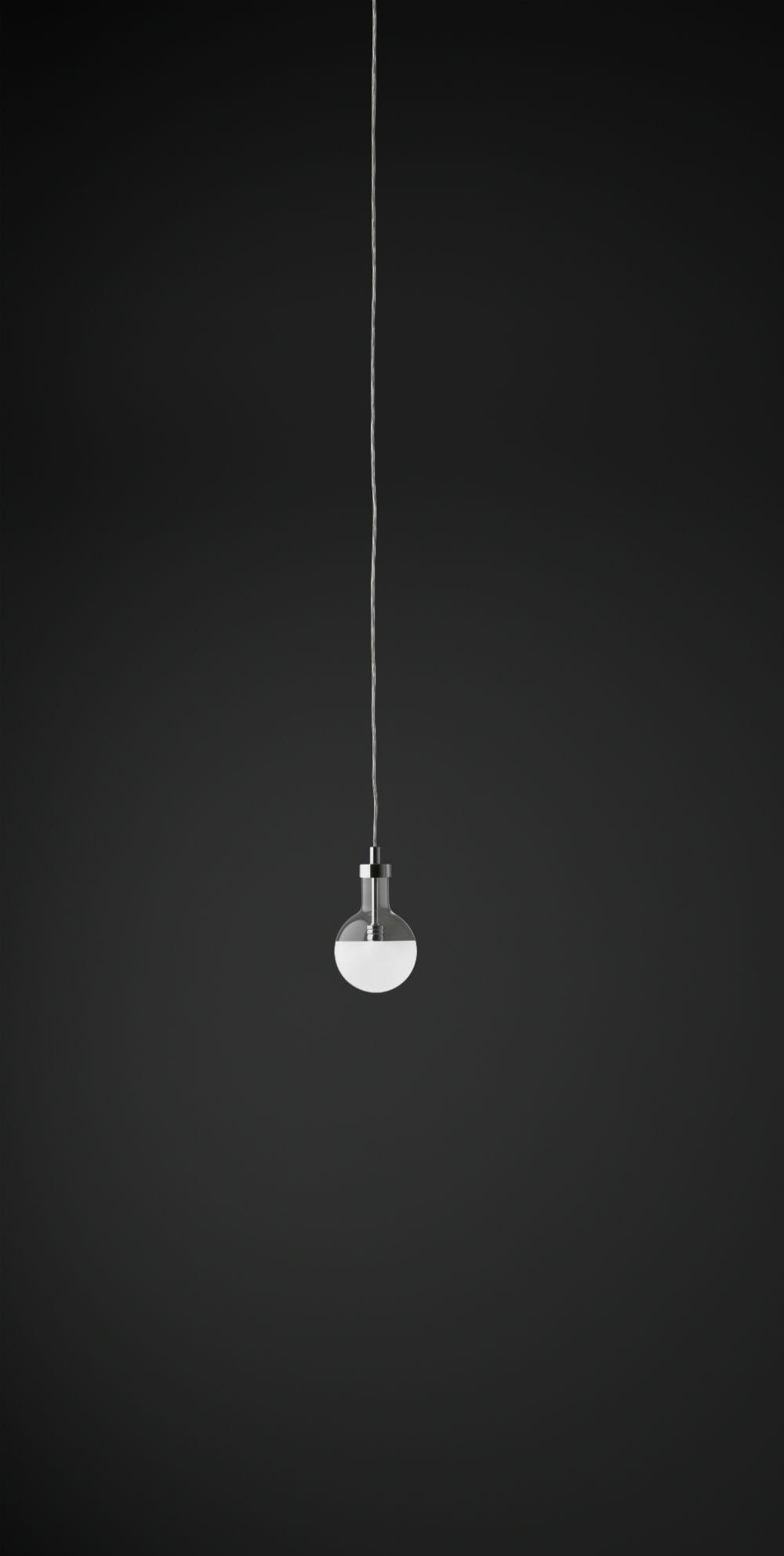 Nobel Lámpara Colgante Pequeña Cromado