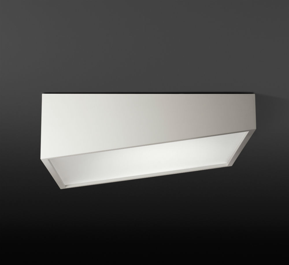 Plus ceiling lamp 80cm asimétrico No Dimmable - white