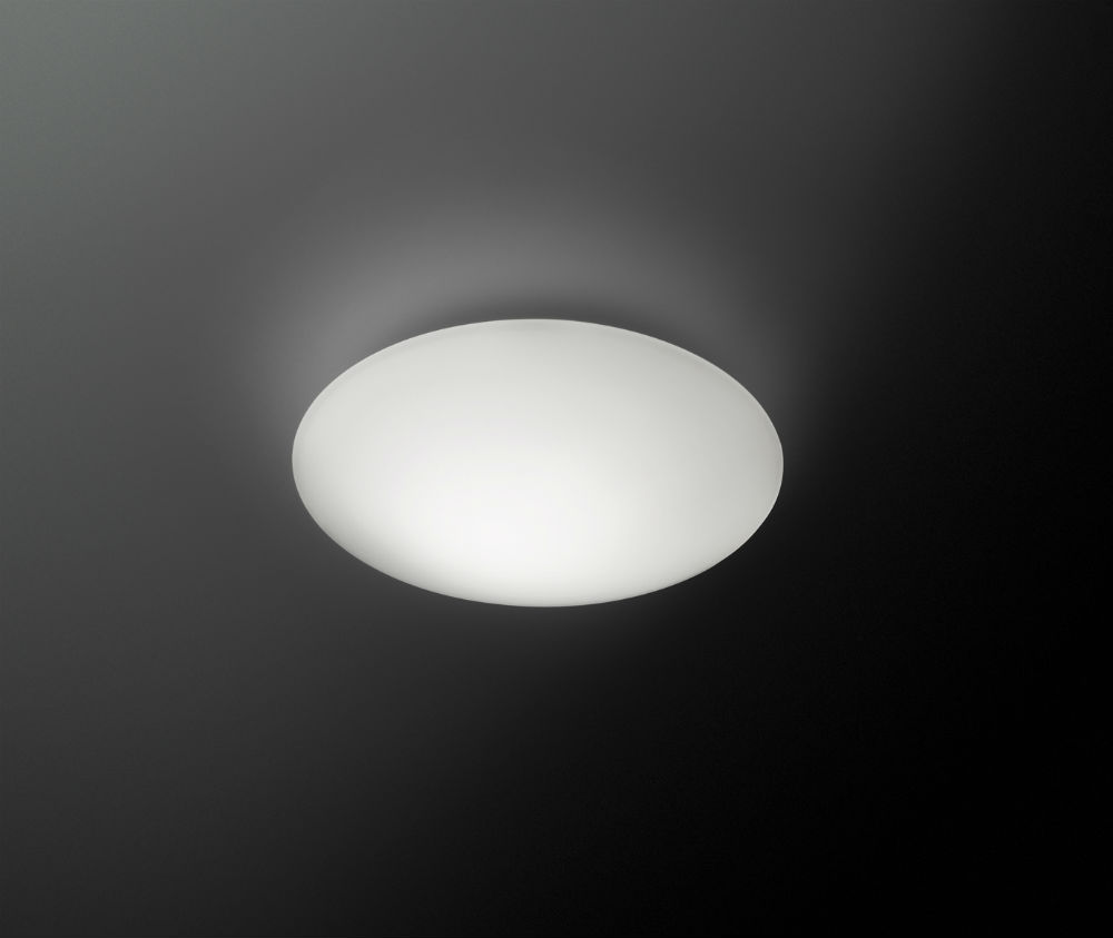 Puck Single Wall/Ceiling lamp ø24,4cm 1xG9 40w Lacquered matt white