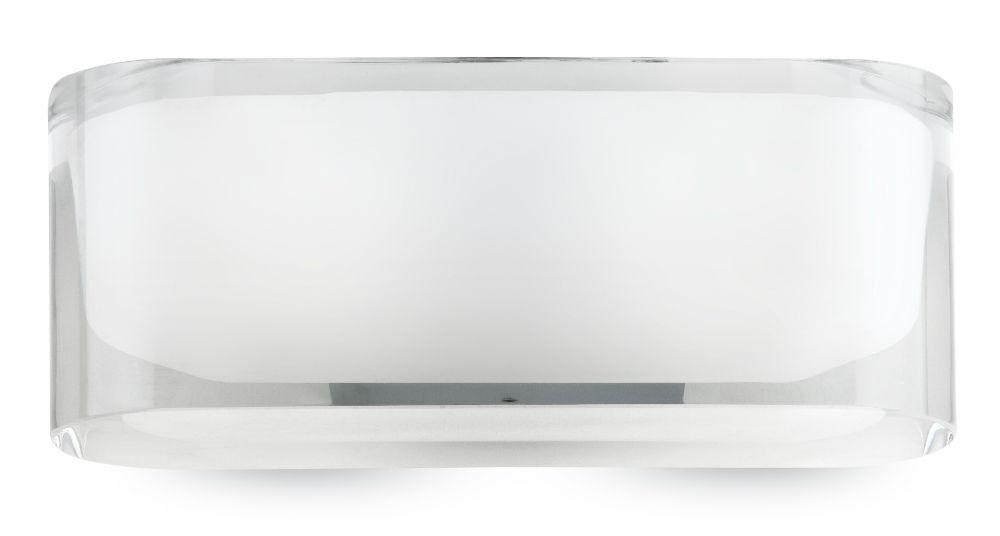Scotch Aplique rectangular 20cm G9 2x48w Cromo