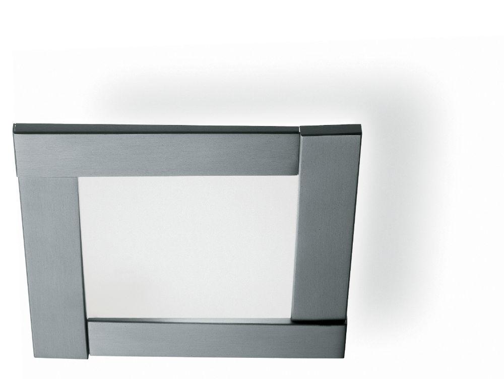 Mini tecto Plafón 4 rampas Cromo