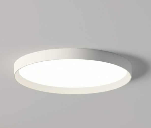 Up large ceiling 1 x plate LED 43w - Lacquered white matt