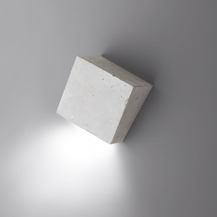 Break Aplique 12x11cm 1xLED 2,1W dimmable - Hormigon