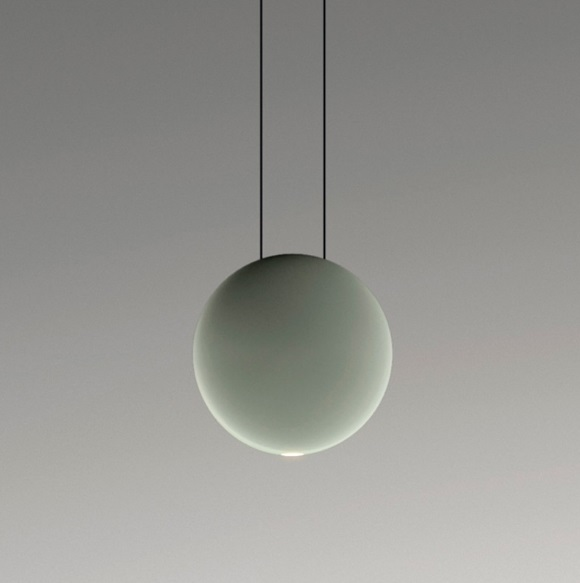 Cosmos Suspension satélite Grand - Laqué Vert mate