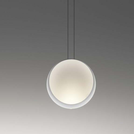 Cosmos Pendant Lamp autoiluminado - Lacquered white matt