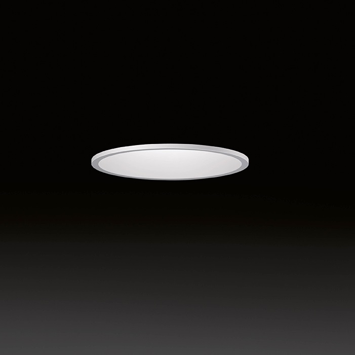 Domo ceiling lamp Recessed recto LED 3x3W - Lacquered white matt