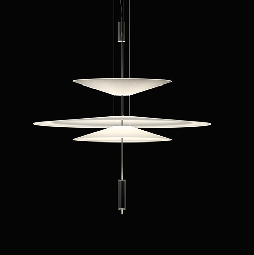 Flamingo Suspension 100 cm 3xLED 5,6W dimmable - Cuivre brillo