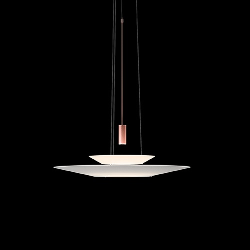 Flamingo Lámpara Colgante max. 200cm 1xLED 5,6W dimmable - Cobre brillo