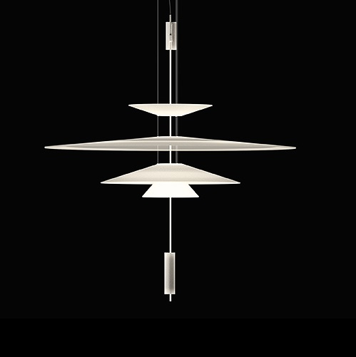 Flamingo Suspension 103 cm 3xLED 5,6W dimmable - Laqué Graphite mate