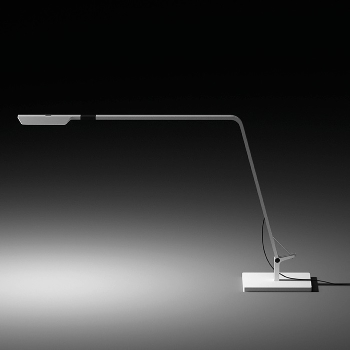 Flex Lampe de table Lecture - Laqué Graphite Brillo