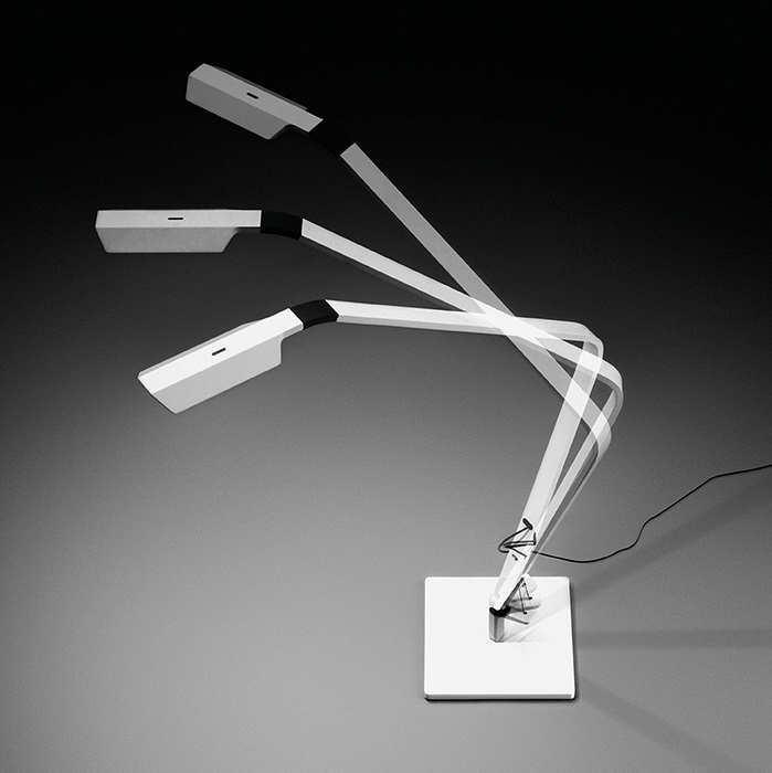Flex Table Lamp Reading - Lacquered white Mate