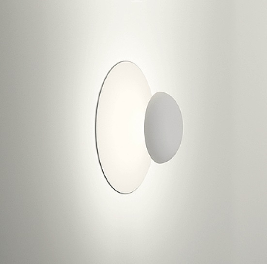 Funnel Wall / ceiling ø35cm 6 x LED 4,5W dimmable - Lacquer White matte
