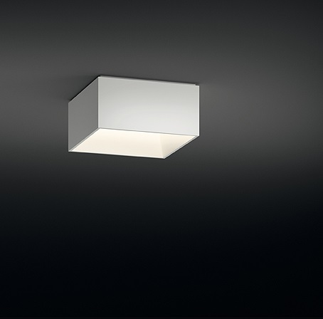 Link ceiling lamp Single 40x40 4xG11 24W - Lacquered white Brillo