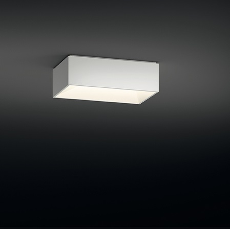 Link ceiling lamp Single 50x30 2xG11 24W - Lacquered Graphite Brillo