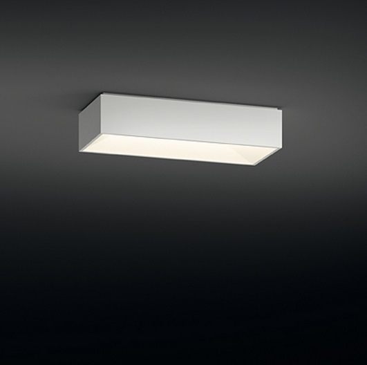 Link ceiling lamp Single 60x25 2xG11 24W - Lacquered white Brillo