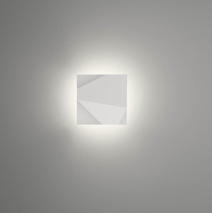 Origami Applique Modulo a - Laqué blanc Mate