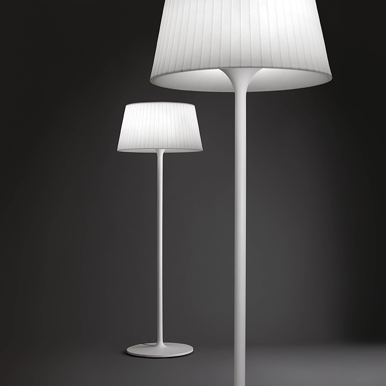 Plis Outdoor Floor Lamp Outdoor (Portátil) E27 - White lacquered
