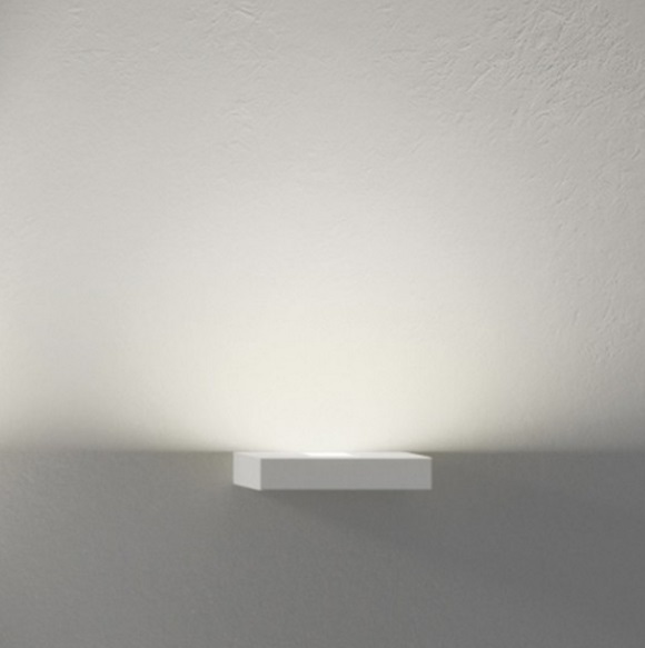 Set Wall Lamp Small without Reflectors 1xLED 7,35w - Lacquered white matt