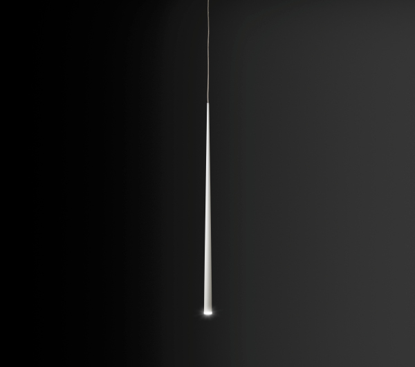 Slim Lámpara Colgante 100cm LED - blanco