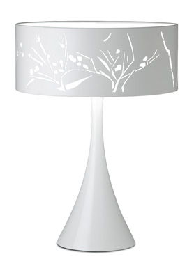 Nature Table Lamp Lacquered Black