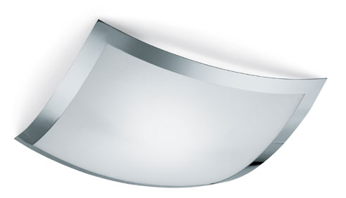 Quadra Marc ceiling lamp 39x39 Chrome