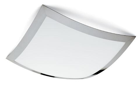 Quadra Marc Maxi Plafón 62x62 Halógeno Cromo