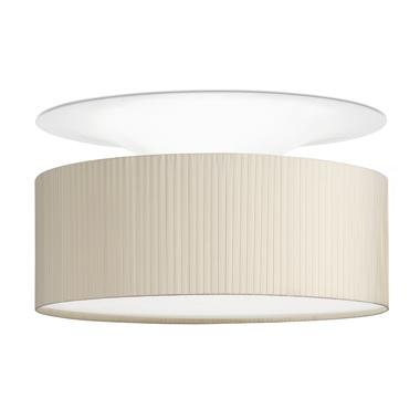 Glamour lâmpada do teto ø50x20cm Beige