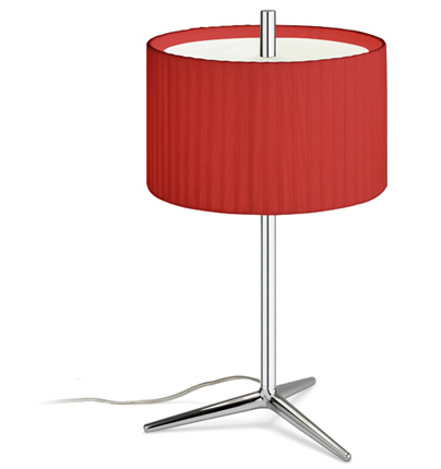 Plis Table Lamp Small lampshade Roja