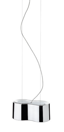 Eight Lámpara Colgante Individual espejo