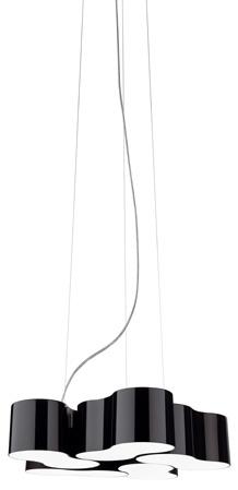 Eight Lámpara Colgante quintuple espejo