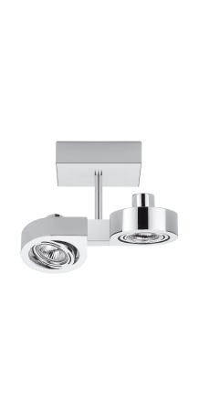 Corner ceiling lamp pequeño Doble 2xGU5,3 50W