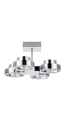 Corner large ceiling quadruple 4xQR-111 60W