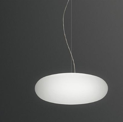 Vol Pendant Lamp ø60cm - Lacquered white Mate