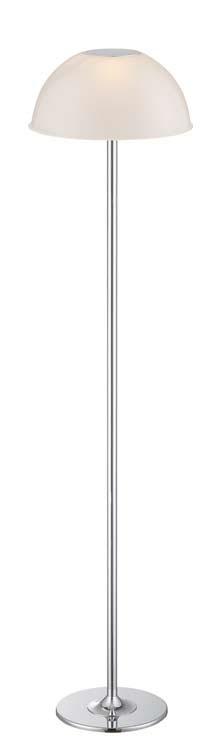 Luxor lámpara de Pie Cromo