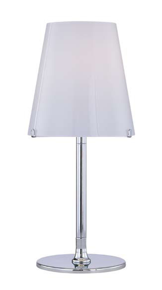 Tube Table Lamp Chrome