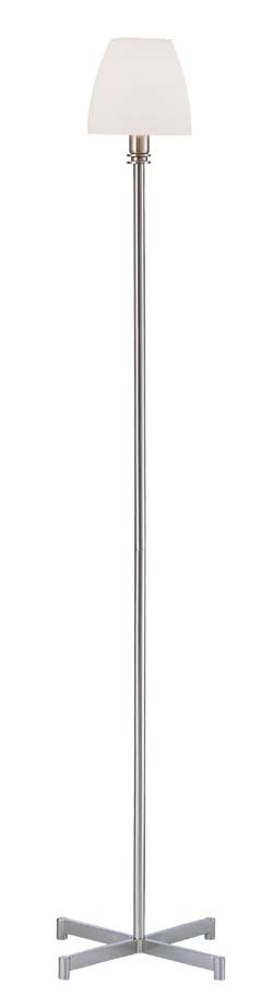 Bell lámpara of Floor Lamp Nickel Satin