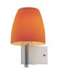 Bell Applique Nickel Satin/Naranja