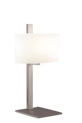 Table Lamps 1 Table Lamp Nickel Satin