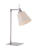 Fez Table Lamp Chrome Satin