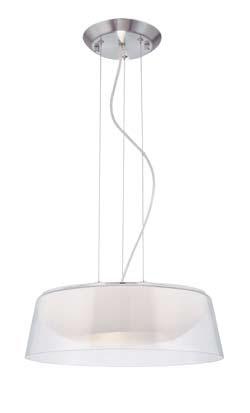 Pendant Lamps 2 Pendant Lamp Nickel Satin