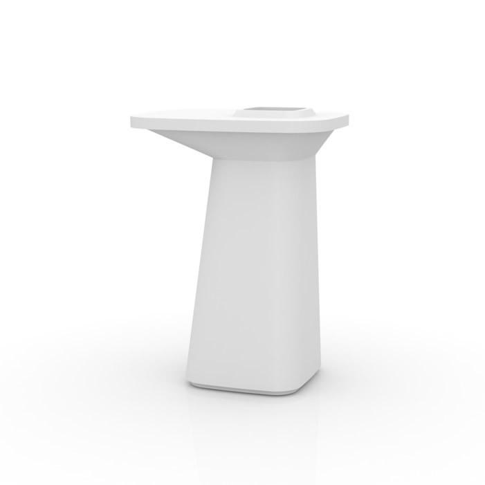Moma Maceta table Alta Llum LED 75x60x100cm