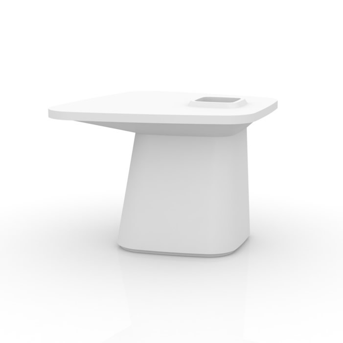 Moma Maceta table Medium Llum LED 100x90x72