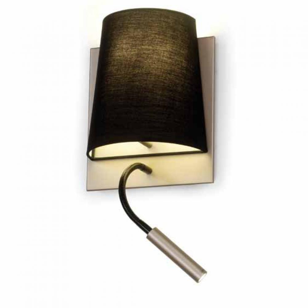 almalight h tel applique abat jour 60w led 3w 4540 018 l mparas de dise o. Black Bedroom Furniture Sets. Home Design Ideas