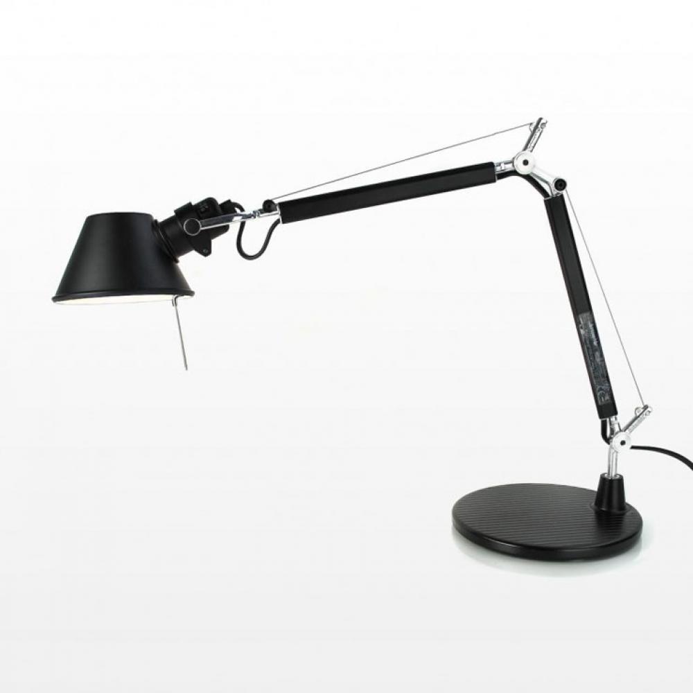 artemide tolomeo micro con pied de lampe de a011830. Black Bedroom Furniture Sets. Home Design Ideas