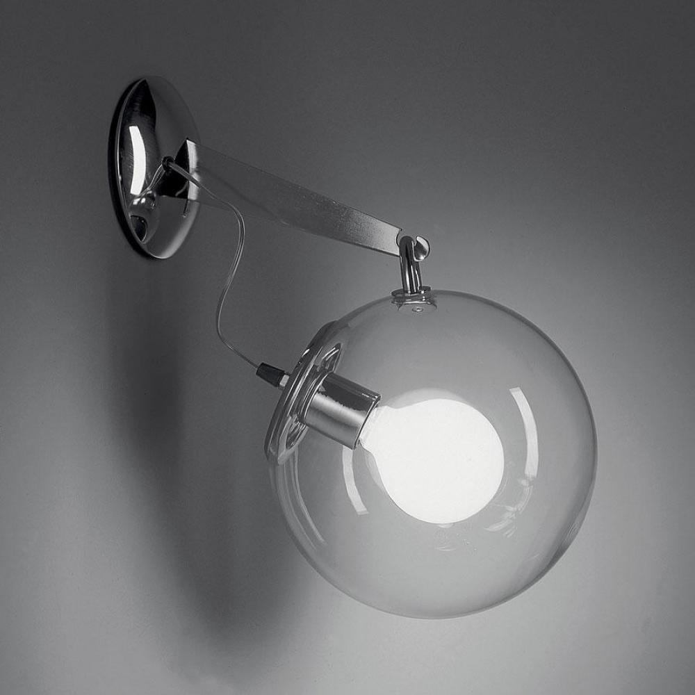 Artemide Miconos Aplique 20w Difusor Cristal A020100